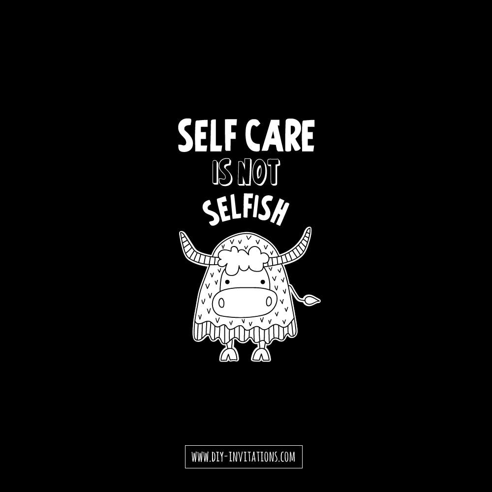 Tazi self-care