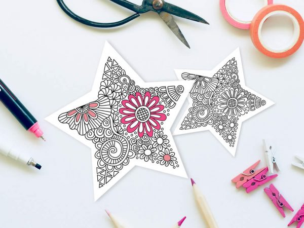 DIY star-doodle-black