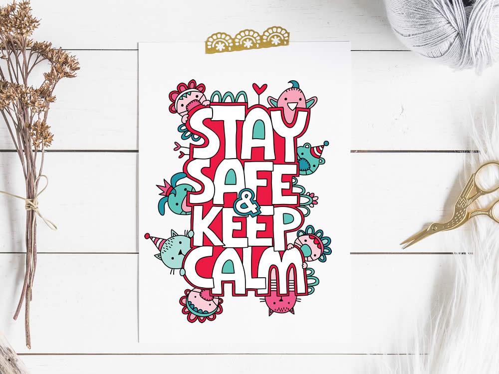 Tazi stay-safe-keep-calm-covid-19
