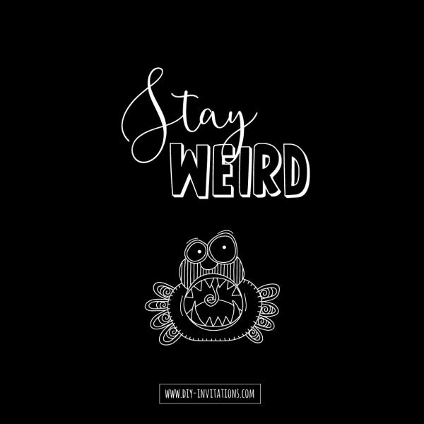 Tazi stay-weird