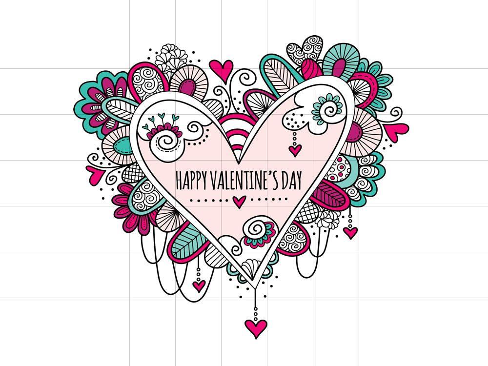 DIY valentine heart