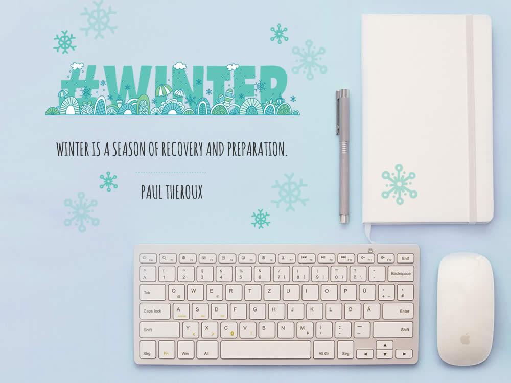 DIY seasons-winter-quote-mockup