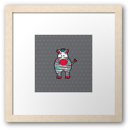 Tazi zebra-art-frame